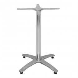 Plateau de table mange-debout aluminium 1080mm(H) Bolero