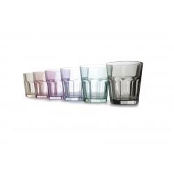 6 verres à whisky 30.5cl Aras couleur mixte