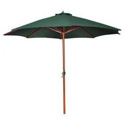 Parasol rond Vert