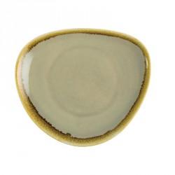 Assiette triangulaire couleur mousse Kiln Olympia 165mm lot de 6