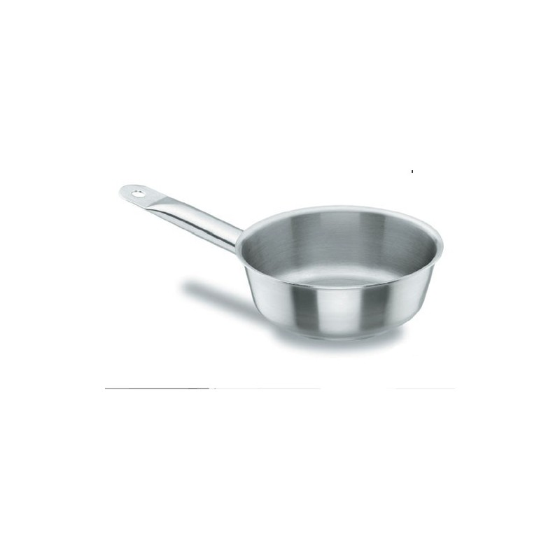 Sauteuse conique inox 18 10 chef classic lacor horeca pro - Batterie de cuisine inox 18 10 ...