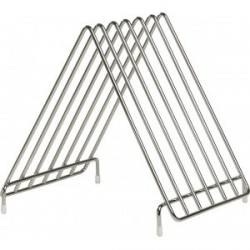 Support inox pour 6 planches